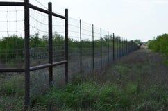 Загородки для миль Стоковое Фото