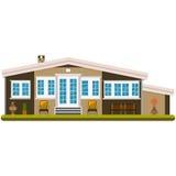 Загородный дом бесплатная иллюстрация