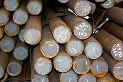 Заготовки металла круглые стоковая фотография