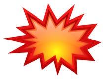 Заграждение звезды взрыва Стоковое фото RF