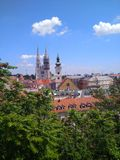 Загреб, Хорватия стоковое фото rf