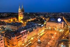 Загреб, Хорватия Стоковое Фото