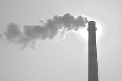 загрязнение воздуха Стоковое Фото