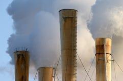 загрязнение воздуха стоковая фотография