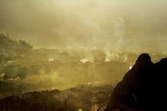 загрязнение воздуха Стоковое фото RF