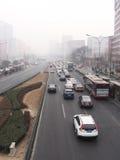 Загрязнение воздуха в Пекине Стоковое Изображение