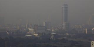 загрязнение воздуха Стоковые Фото
