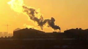 Загрязнение воздуха видеоматериал
