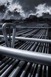 загрязнение газовое маслоо Стоковые Изображения