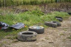 Загрязнение индустрии автомобиля стоковая фотография rf