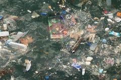 Загрязнение моря Стамбула стоковое изображение