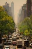 Загрязнение Нью-Йорка Стоковое Фото