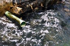 загрязнение океана Стоковые Фото