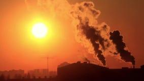Загрязнение окружающей среды сток-видео