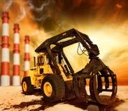 загрязнение окружающей среды Стоковые Фотографии RF