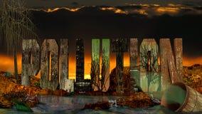 Загрязнение опасно Стоковые Фотографии RF
