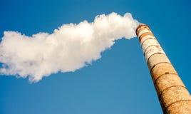 Загрязнение пара облака трубки Стоковые Фото