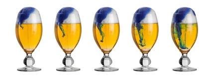 загрязнение пива стоковое изображение