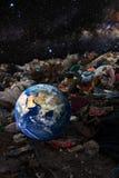 загрязнение принципиальной схемы относящое к окружающей среде Стоковые Фотографии RF