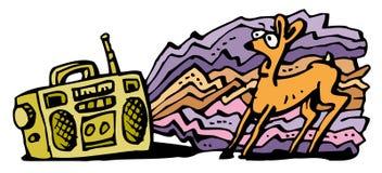 загрязнение шума Стоковые Фото