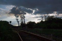 загрязнение Стоковая Фотография RF
