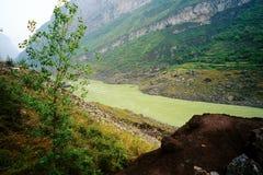 загрязнение wu jiang фарфора Стоковое Фото