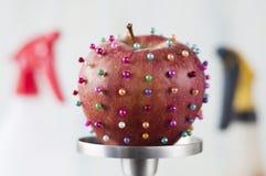 Загрязненное яблоко Стоковые Фото
