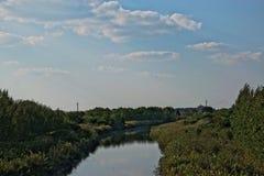 Загрязнянный канал Стоковое Изображение