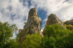 Загубите замок hradek Sirotci замка в чехии Стоковые Изображения RF