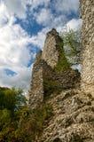 Загубите замок hradek Sirotci замка в чехии Стоковые Фотографии RF