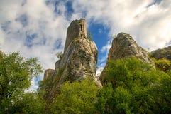 Загубите замок hradek Sirotci замка в чехии Стоковые Изображения