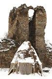 загубленная старая haystack фермы замока Стоковое Фото