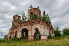 Загубленная церковь значка Казани матери бога Вилла Стоковое фото RF