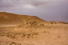 Загубленный аванпост около форта Abu Jifan, провинции Эр-Рияда, Саудовской стоковое фото rf