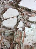 Загубленная кирпичная стена Стоковые Фотографии RF
