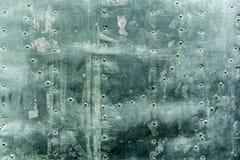 Загубленная металлическая поверхностная предпосылка Стоковое Фото