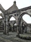 Загубленная средневековая церковь Стоковые Фотографии RF
