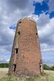 Загубленная старая башня мельницы Стоковые Фото