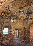 Загубленная старая церковь Стоковые Изображения