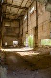 Загубленная фабрика кирпича Стоковое фото RF