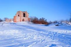 Загубленная церковь аннунциации на поселении Рюрика Стоковое Изображение