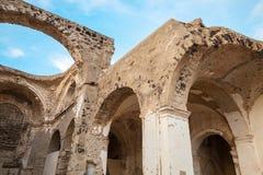 Загубленная церковь без крыши, Ischia, Италии Стоковое Фото