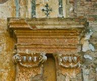 Загубленная церковь - деталь Стоковое Фото