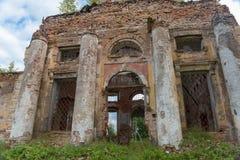 Загубленная церковь святого virgin Стоковые Изображения RF