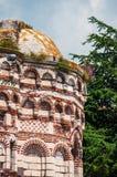 Загубленная церковь Христоса Pantocrator в Nesebar bulbed Стоковые Фотографии RF