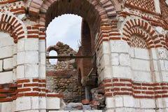 Загубленная церковь Христоса Pantokrator Стоковое фото RF