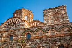 Загубленная церковь Христоса Pantokrator, Nessebar Стоковое фото RF