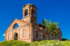 Загубленная церковь Стоковое Изображение RF