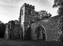 Загубленная церковь, Ayot Св. Лаврентий Стоковые Изображения