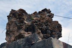 Загубленная часть стены Стоковые Фотографии RF